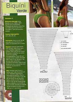 Crochet swim suites - diamondinapril - Álbuns da web do Picasa