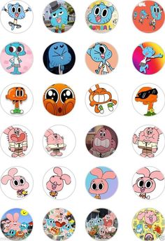 24x PRECUT THE AMAZING WORLD OF GUMBALL RICE/WAFER PAPER CUP CAKE TOPPERS | eBay