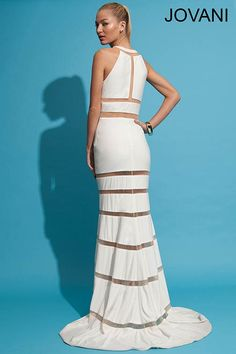 Sleeveless jersey gown 78284 - Prom Dresses