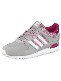 Diesen Adidas Originals ZX700 W Sneaker in Grau, Weiß und Pink gibt es hier!