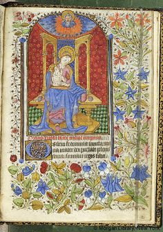 Book of Hours, M.63 fol. 112r - Images from Medieval and Renaissance Manuscripts - The Morgan Library & Museum
