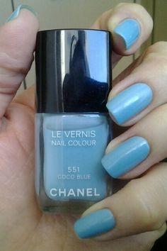 chanel coco blue