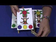 Chicka Chicka Boom Boom Color Clip Cards