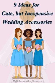 Ideas for getting a good deal on wedding shoes, veils, belts / sashes, handbags, and wraps / scarfs. #MyOnlineWeddingHelp