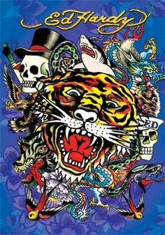 I can't stand Ed Hardy, but it does make it easier to spot a d bag