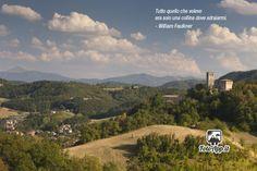 Paesaggio collinare con castello di Sarzano - di Alessandro Norman http://www.fotoapp.it/archivio/utenti/alessandronorman/foto630