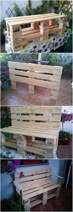 Most of your living room or lounge areas looks so impressive when it is all enclosed with the services of the wood pallet benches into it. You can perfectly make the use of the wood pallet for the benches artwork designs that would give out a fantastic appearance to your house corner. You can use rustic wood material for this purpose.