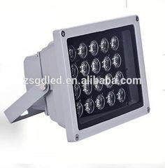dmx rgb outdoor led flood light 6w 12w 24w 48w with CE EMC RoHS LVD