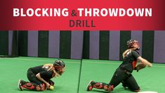 Take your blocking to another level! Reinforce game-like situations in practice so it transfers over with ease come game time with this blocking and throw-down drill. Softball Pitching Drills, Softball Workouts, Coaching Volleyball, Fastpitch Softball, Volleyball Gifts, Softball Coach, Softball Players, Girls Softball, Softball Stuff