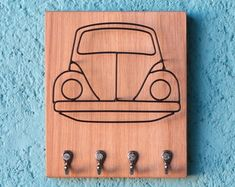Porta-chaves Fusca