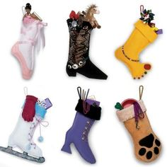 DIY: 20 Easy To Make Christmas Stockings