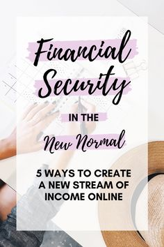 Here's 5 suggestions on how you can create a stream of income online. A short concise read to help you adjust to the new normal of world economics.   #newnormal #financialsecurity #incomeonline