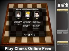 Instantly Play Chess VS Computer Play Chess Against Computer Online Free - to become an expert on chess game you should have a practice, and you can play it here instantly and completely free without needed a registration. Play Chess Game, Chess Online, Computer Online, Free Games