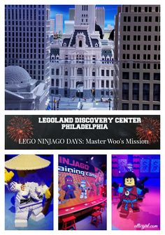 LEGO NINJAGO DAYS at LEGOLAND Discovery Center Philadelphia #LEGOLAND #LEGO #NINJAJO #Philadelphia #Philly Lego Ninjago Movie, Couples Vacation, Vacation Ideas, Best Places To Vacation, Lego Activities, All Lego, Pinterest Photos, Get Tickets, Culture