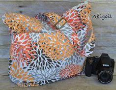 Darby Mack Designs - Abby - camera bag abigail-camera-bag, womens camera bags made in the USA, lightweight, floral, washable, water resistant