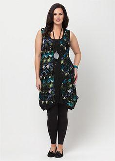 Plus Size Women Dresses - Large Size Maxi Dresses for Women in Australia - COLOUR ME CHIFFON DRESS - TS14