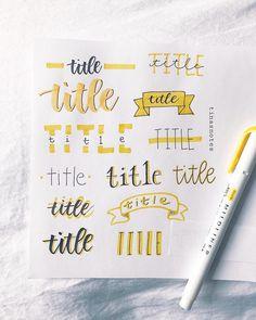 title ideas ⠀⠀⠀⠀⠀⠀⠀⠀⠀⠀⠀⠀ ✎ muji 0.38 ballpoint pen, zebra mildliners, tombow dual brush pen, tombow fudenosuke hard tip brush pen