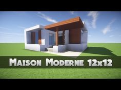 Minecraft – How to build a modern house 11 | Minecraft Stream ...