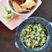 Alton Brown's Homemade Guacamole Recipe