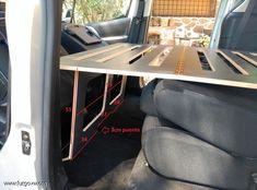 Car Camper, Mini Camper, Camper Trailers, Camper Van, Camper Berlingo, Peugeot, Motorhome, Kangoo Camper, Campervan Bed