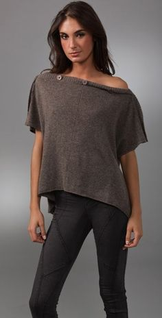 """Alice + Olivia """"Stacey"""" Cashmere Convertible Shrug $275  #Convertible #Fashion #LynnFriedman"""