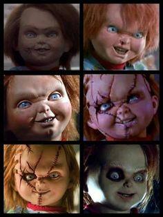 Ewolution of Chucky