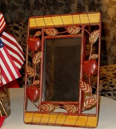 Hey, I found this really awesome Etsy listing at https://www.etsy.com/listing/72758831/vintage-iron-apple-iron-photo-frame-7x10