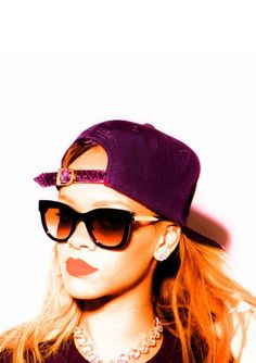 RIHANNA in Thierry Lasry