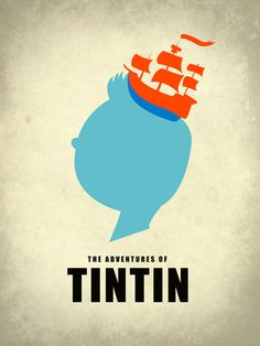 THE ADVENTURES OF TINTIN Art Print by Calvin Wu