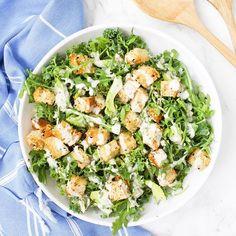 Vegan Mexican Salad Wraps with Creamy Avocado Dressing - This Savory Vegan White Bean Dip, White Beans, Creamy Avocado Dressing, Avocado Dip, Spinach Artichoke Pizza, New Recipes, Vegan Recipes, Easy Marinara Sauce, Mexican Salads