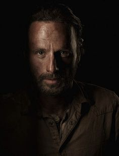 The way the lighting is lit I am able to see that Chiaroscuro lighting is involved, which makes the image more dramatic. It would be received differently by its audience if the photos had flat lighting. Flat Lighting would allow the viewers to see more around Rick Grimes but it would not have the same dramatic tone.