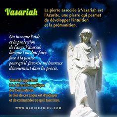 Nous demandons par nos prières à l'ange gardien Vasariah qu'il nous protège contre les conflits, les injustices et les procès