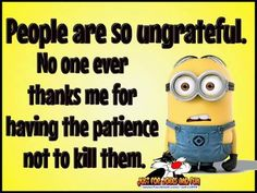 LOL! I just love the #DespicableMe #Minions So cute! =D