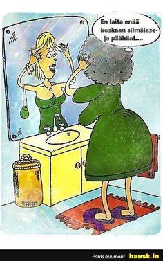HAUSK.in - Hauskat kuvat ja vitsit. Hyvällä tuulella joka päivä! Trending Memes, Haha, Funny Pictures, Words, Smile, Fictional Characters, Design, Fanny Pics, Ha Ha