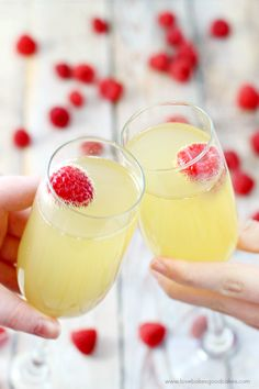 This Mock Champagne Punch only has 3 ingredients and it comes together quickly! It's great for baby showers or anytime you need a non-alcoholic alternative to the real thing.