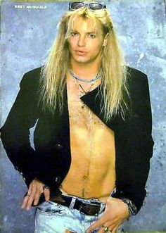 Poison's Brett Michaels Bret Michaels Poison, Bret Michaels Band, Hair Metal Bands, 80s Hair Bands, Poison Albums, Glam Rock Bands, Glam Metal, Glam Hair, Music Is Life