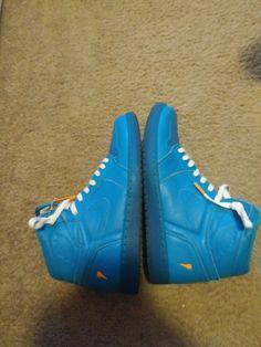 65c9bfa53ecfa8 men s Jordan retro 1 Gatorade blue lagoon size 11 good condition  fashion   clothing