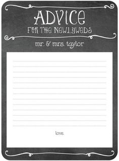 Chalk Couture - Signature White Bridal Shower Games - Coloring Cricket - Black : Front