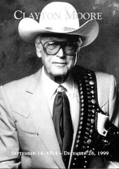 """Clayton Moore (the Lone Ranger) ~~ I loved the """"Lone Ranger."""" As little boy I used to call him the """"Long Ranger. Hollywood Stars, Classic Hollywood, Clayton Moore, The Lone Ranger, Tv Westerns, Masked Man, Western Movies, Old Tv Shows, Movies"""