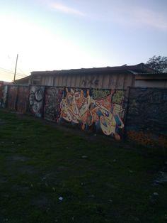Mural en Avenida Central con Americo Vespucio, frente a Municipalidad de Lo Espejo