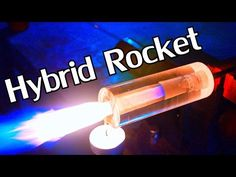 Ben from NightHawkInLight demonstrates how to build a working DIY transparent hybrid rocket engine in his workshop. The engine uses a solid acrylic tube Build A Rocket, Diy Rocket, Acrylic Rod, Acrylic Tube, Electric Jet Engine, Robotics Projects, Engineering Projects, Science Projects, Reuse Old Tires