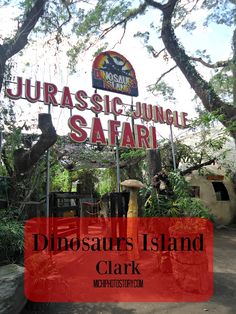 Michi Photostory: Dinosaurs Island