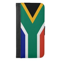 Purchase a new Flag case for your iPhone. Africa Flag, Iphone Wallet, Iphone Case Covers, South Africa, African, Gifts, Inspiration, Presents, Biblical Inspiration