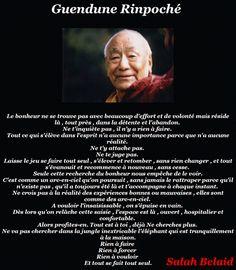 La Pensée Du Jour: LE BONHEUR ( Rinpoché )