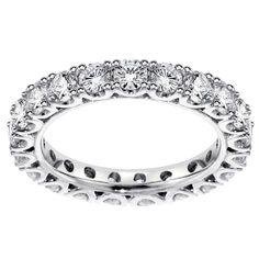 Platinum 1 1/2 - 1.85ct TDW Diamond Eternity Wedding Band