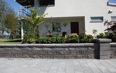 Mur - Gårda Johan Idaho, Diy And Crafts, Sidewalk, Blog, Handmade, Home, The Visitors, Terrace, Fence