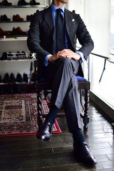 Bespoke suit. Always a good choice.