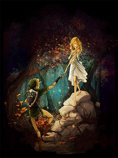 In the Lost Woods by ~HenriBijAnthony on deviantART
