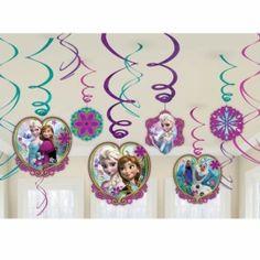 Disney Frozen draaislingers 12 st.