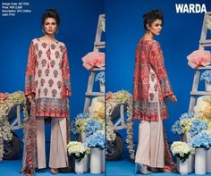 Warda Lawn 2017 Collection With Full Catalogue  http://www.styling.pk/warda-lawn-2017-collection-with-full-catalogue.html  #Warda #Lawn #Lawn2017 #Collection #Catalogue #Lawn #Dresses #Fashion